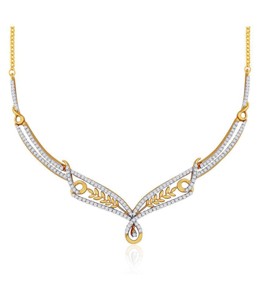 Asmi 18k BIS Hallmarked Yellow Gold Necklace