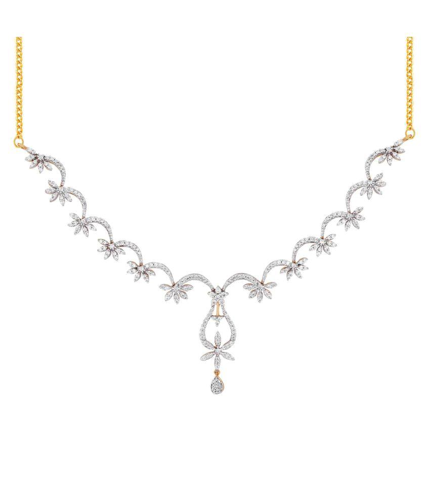 Asmi 18k BIS Hallmarked Yellow Gold Necklace