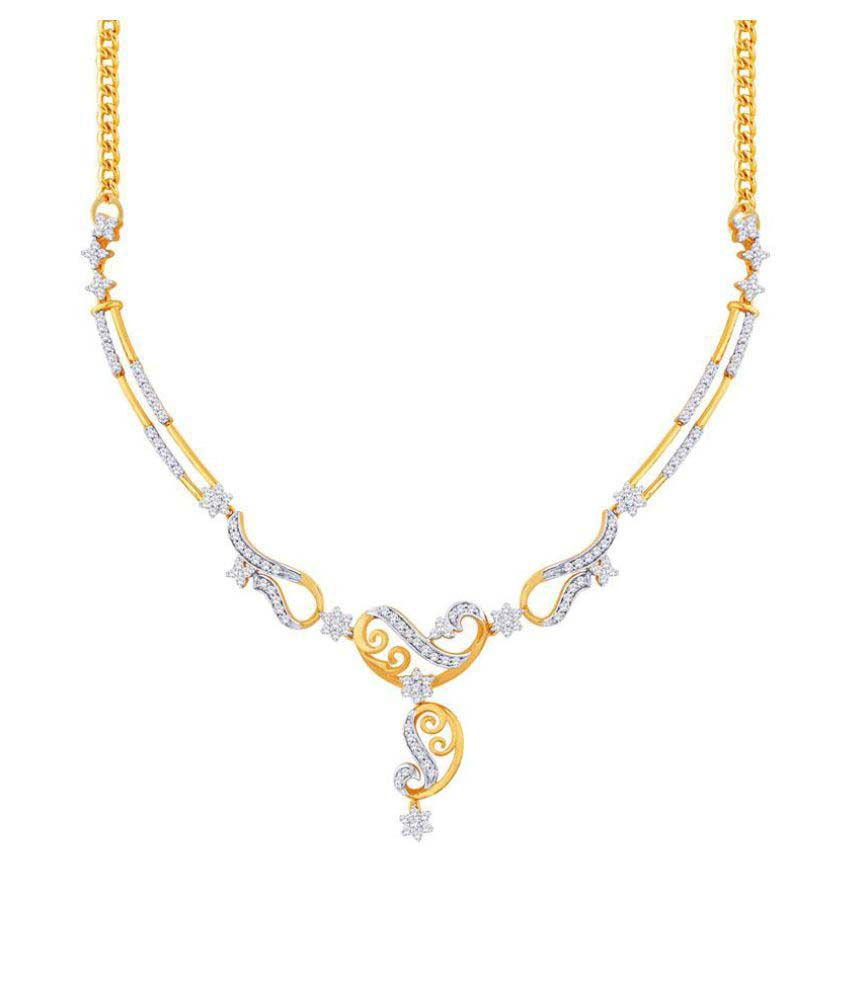Nakshatra 18k BIS Hallmarked Yellow Gold Necklace