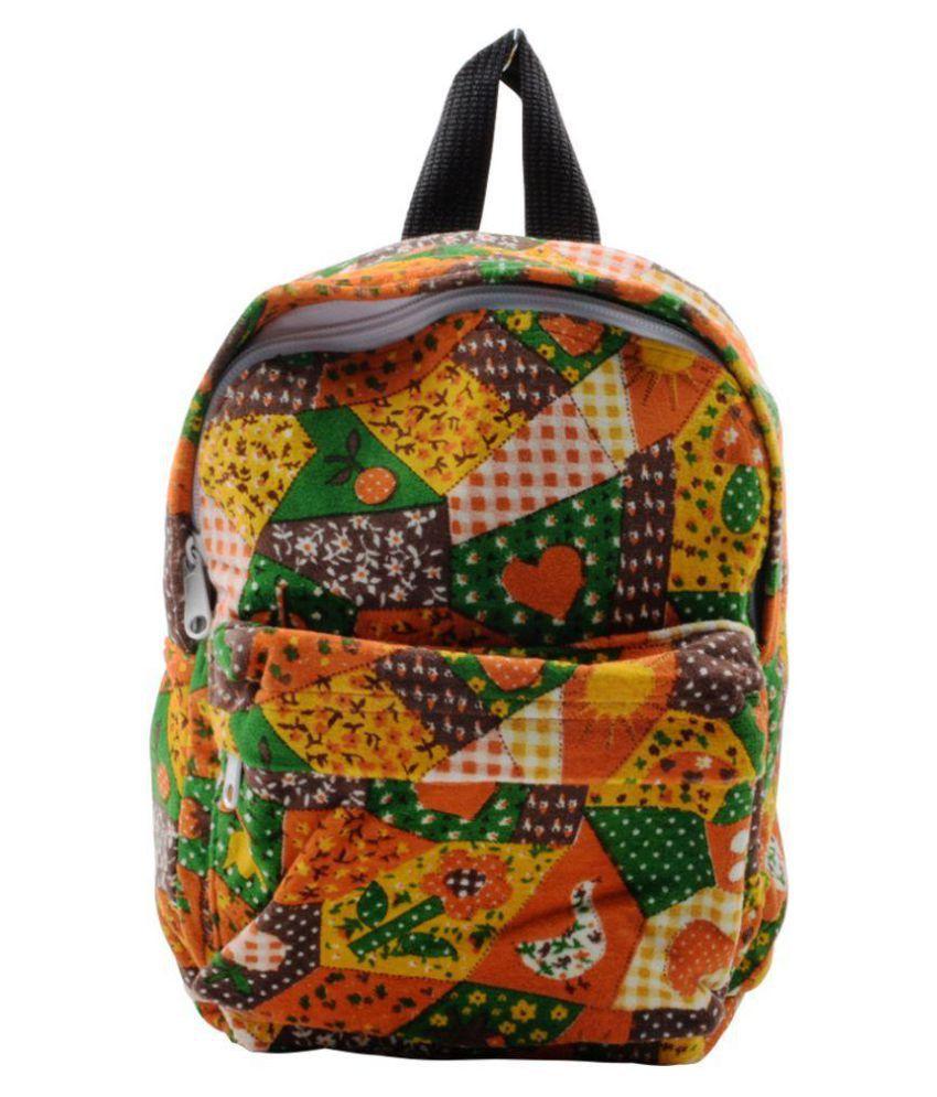 HVE Multicolor Backpacks School Bag