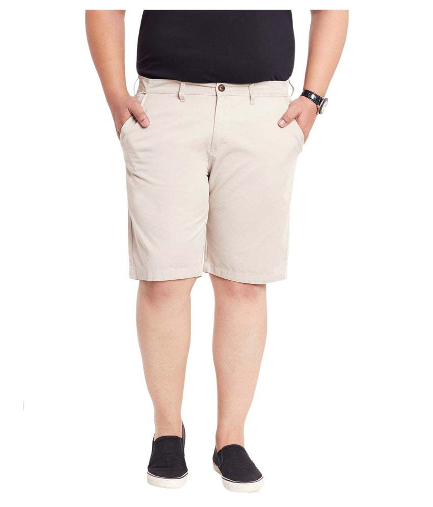 Mike & Smith Beige Shorts