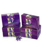 Bar Soaps Bath & Body Vaadi Herbals Exotic Flavors Luxurious Handmade Herbals Soaps 75gm pack Of 6