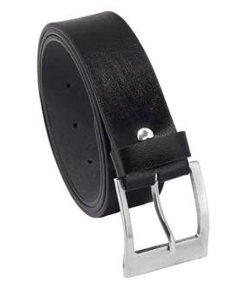 Being Adam Black PU Formal Belts