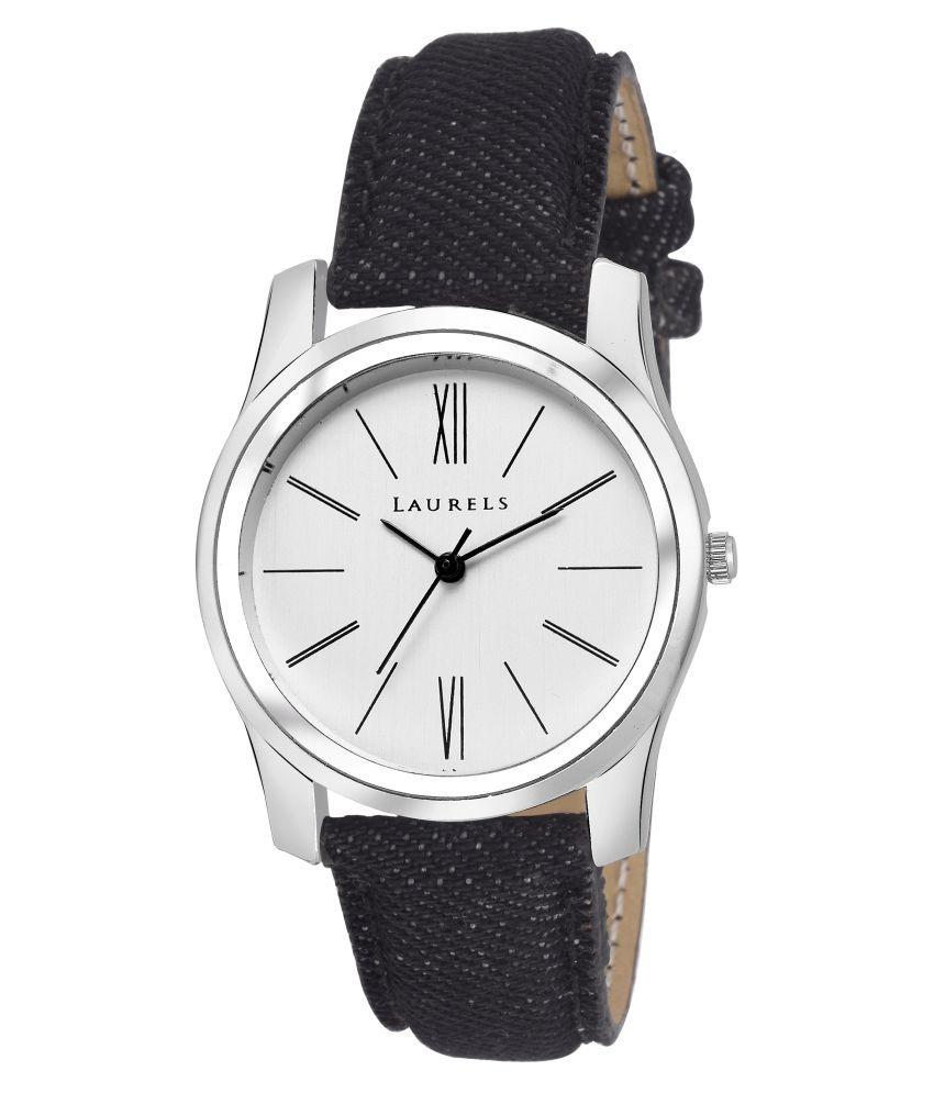 2fa93904a Laurels Silver Analog Watch