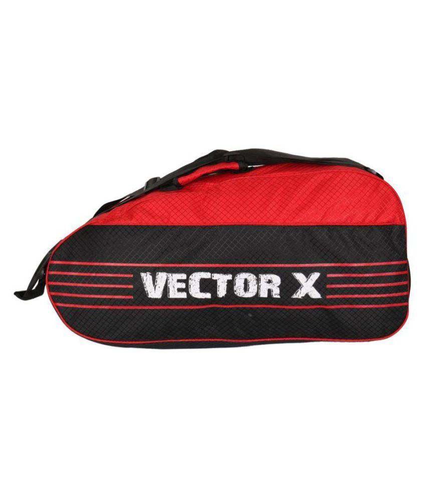 Vector X Duffle bag with shoulder strap Badminton Kit Bag