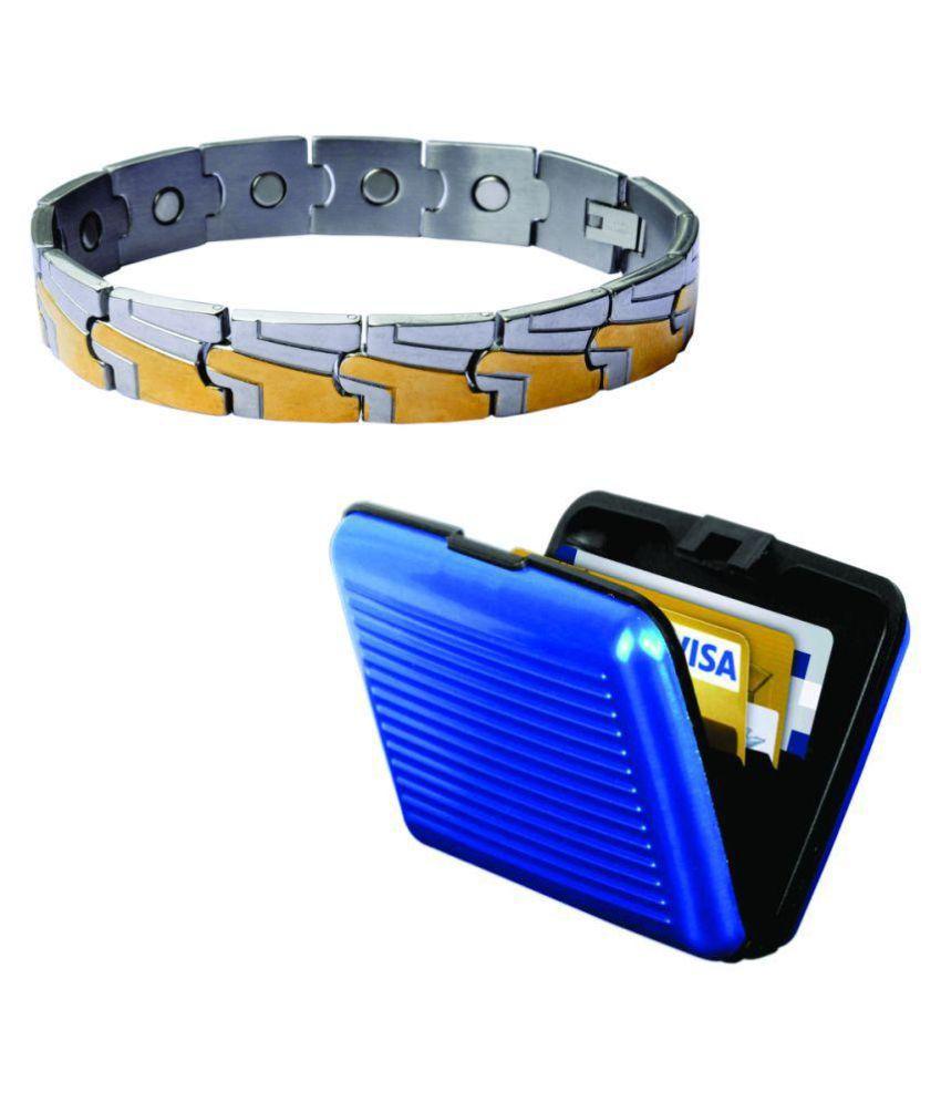 deemark bio magnetic 5 with card holder bracelet buy