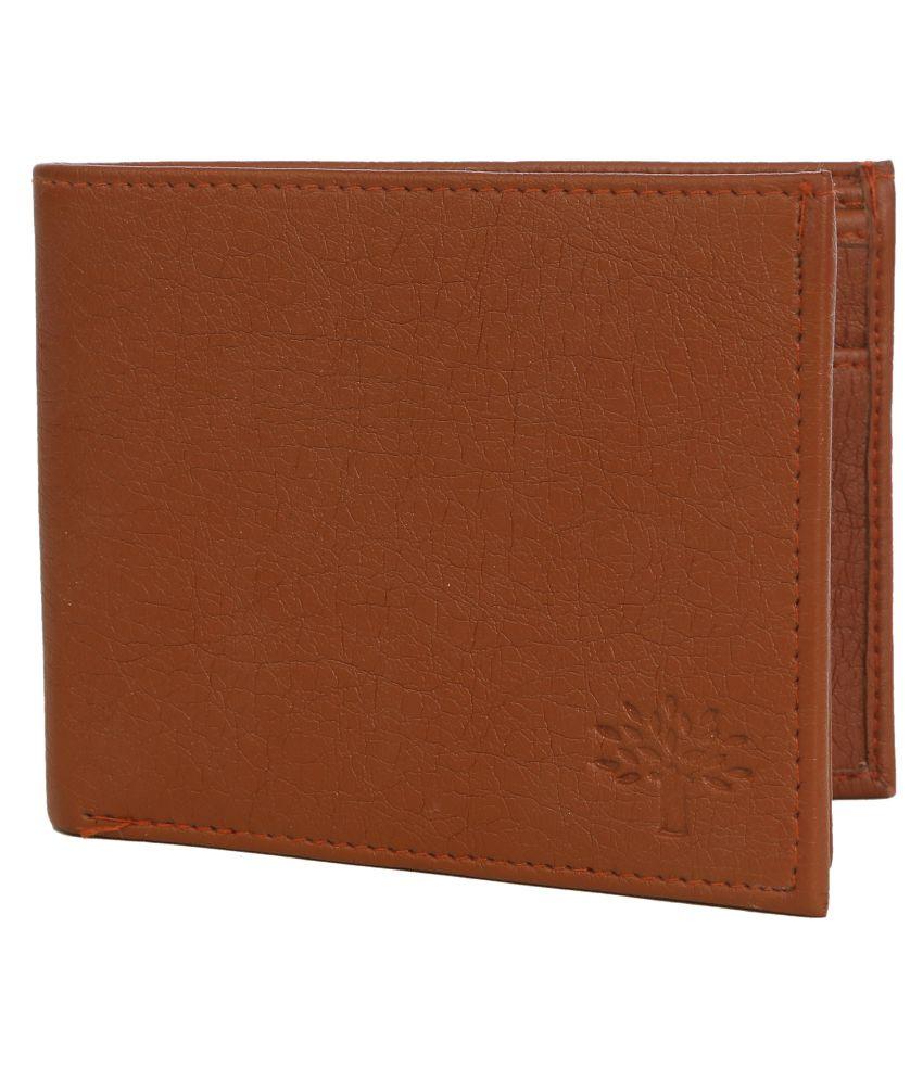 Woodland Tan Formal Regular Wallet