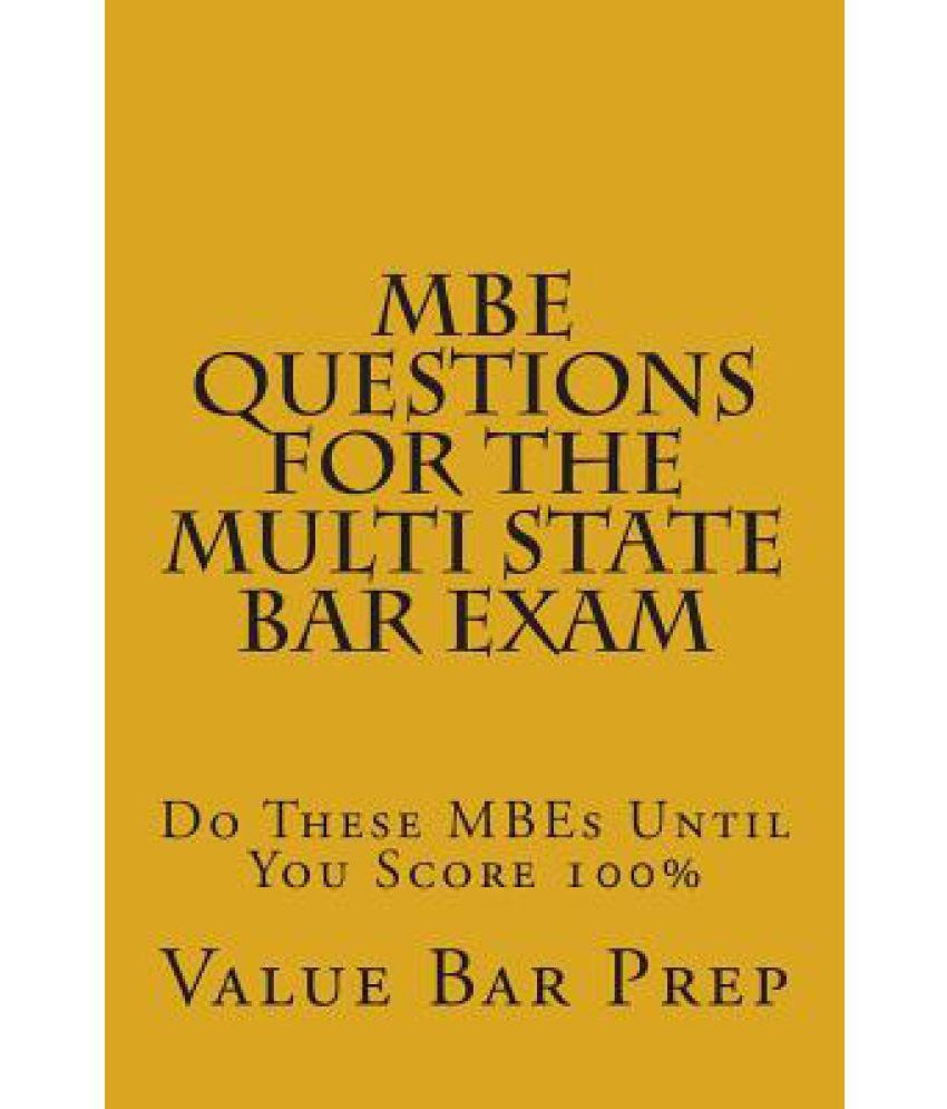 multistate bar exam essay questions