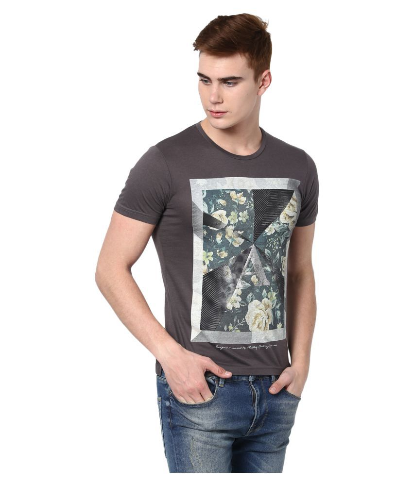 Fritzberg Brown Round T-Shirt
