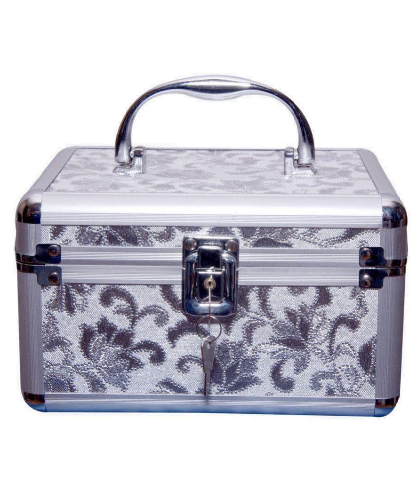 Pride Silver Aluminum Jewellery Box