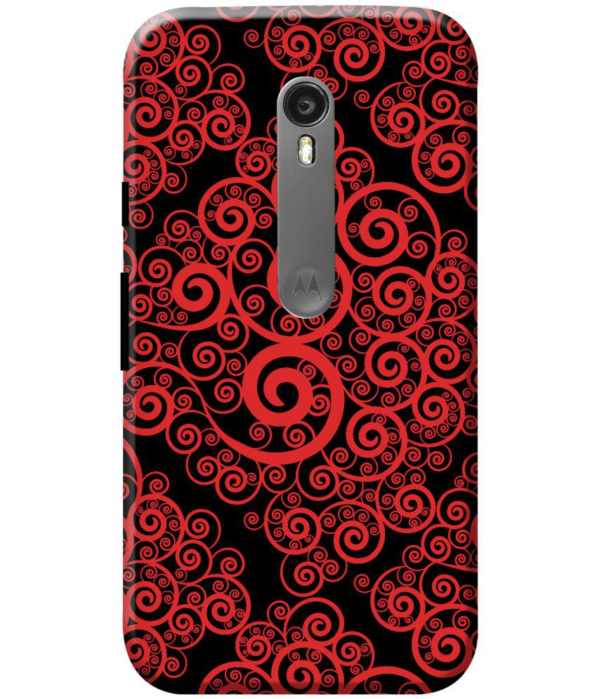Moto Turbo Printed Cover By KanvasCases