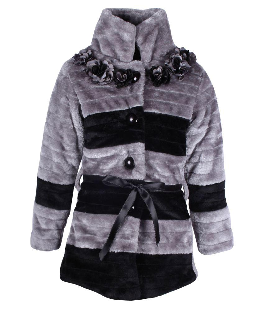 Cutecumber Multicolor Polyester Winter Jacket