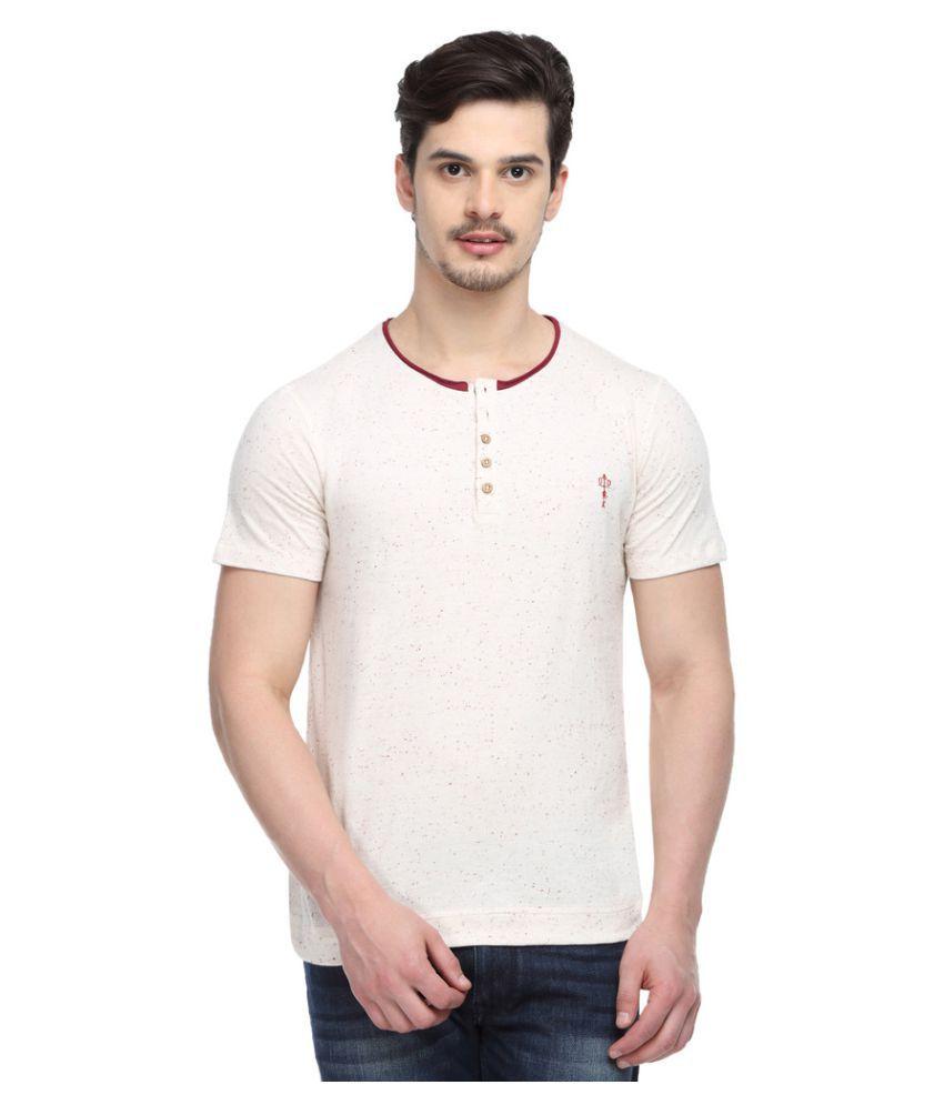 Odaka Off-White Henley T-Shirt