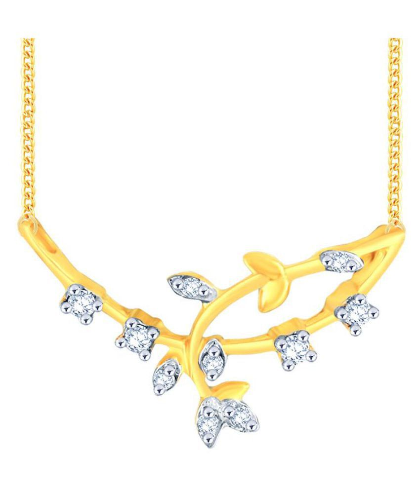 Asmi 18k Yellow Gold Mangalsutra