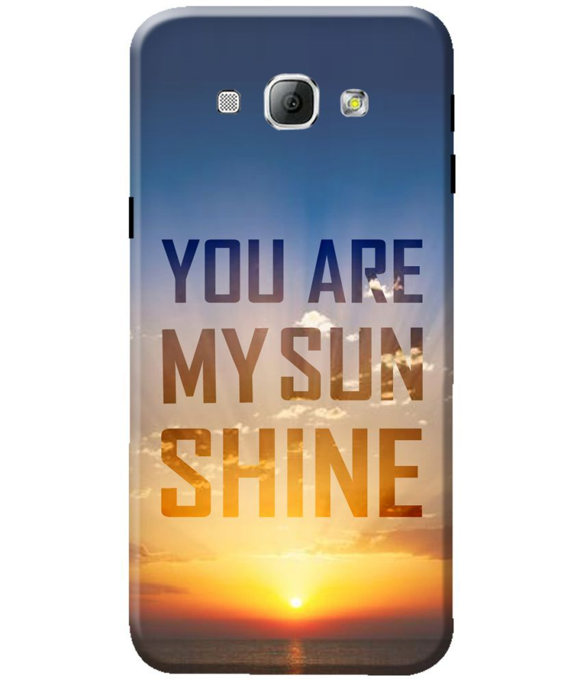 Samsung Galaxy A8 Printed Cover By KanvasCases