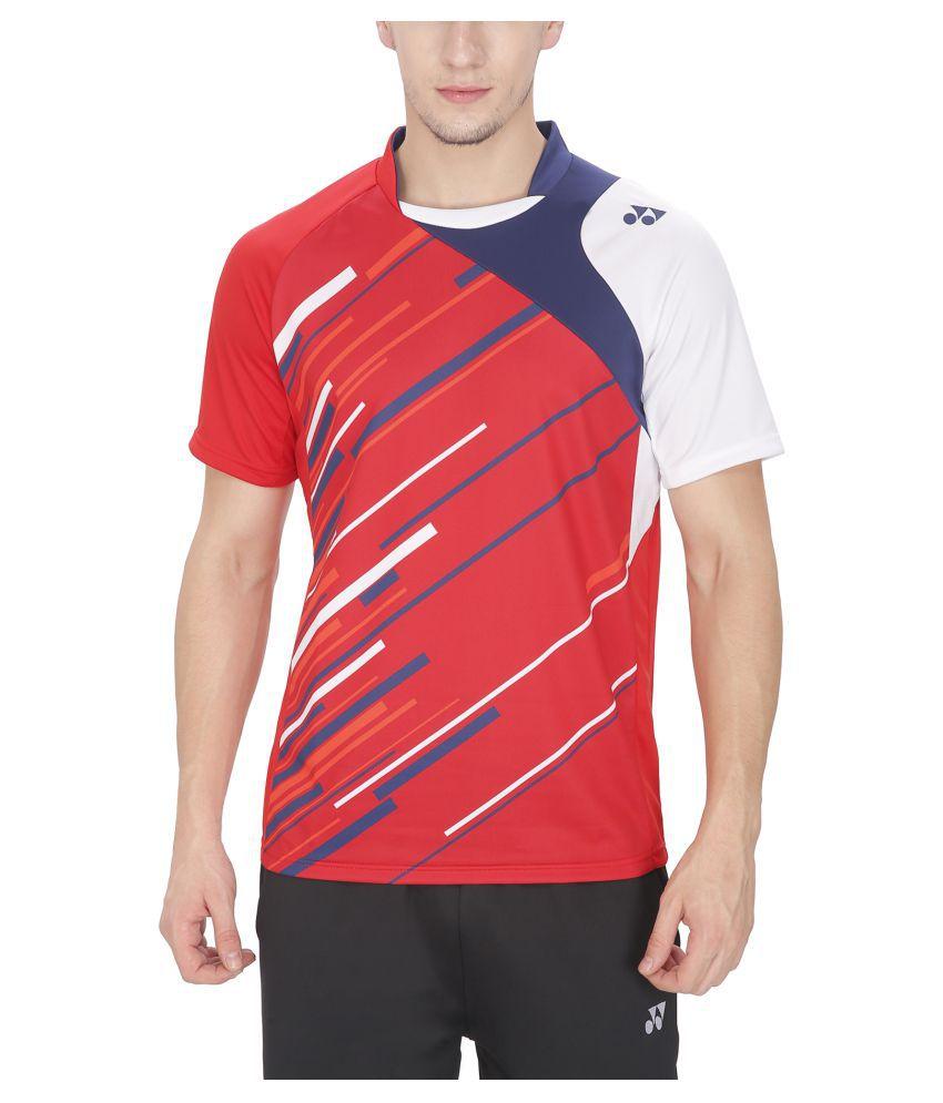 Yonex Multicolour Polyster Tshirt