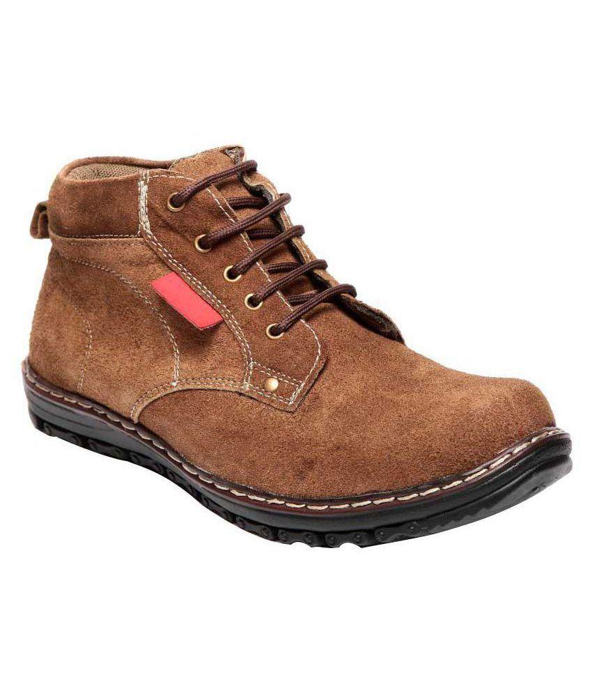 Aleron Brown Casual Boot