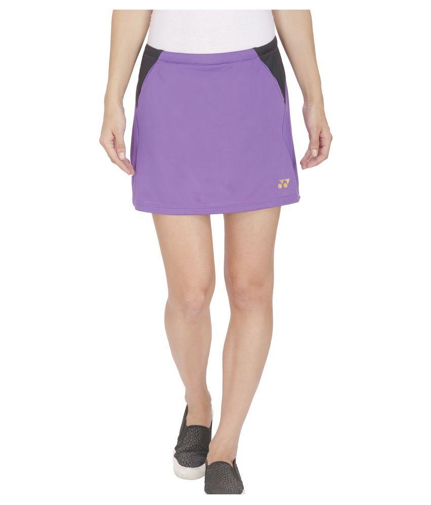 Yonex Purple Badminton Skirt