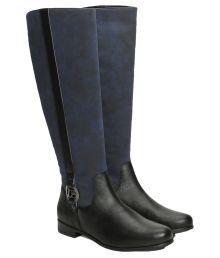 La Briza Blue Knee Length Riding Boots