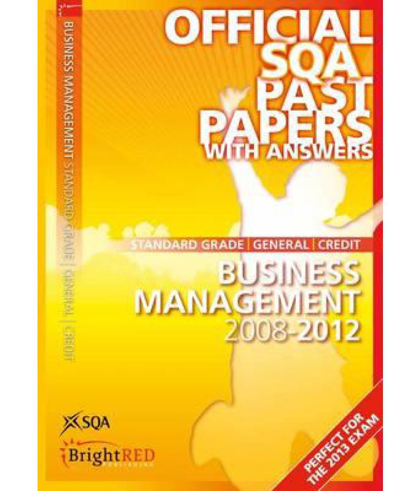 sqa past papers business management 2006