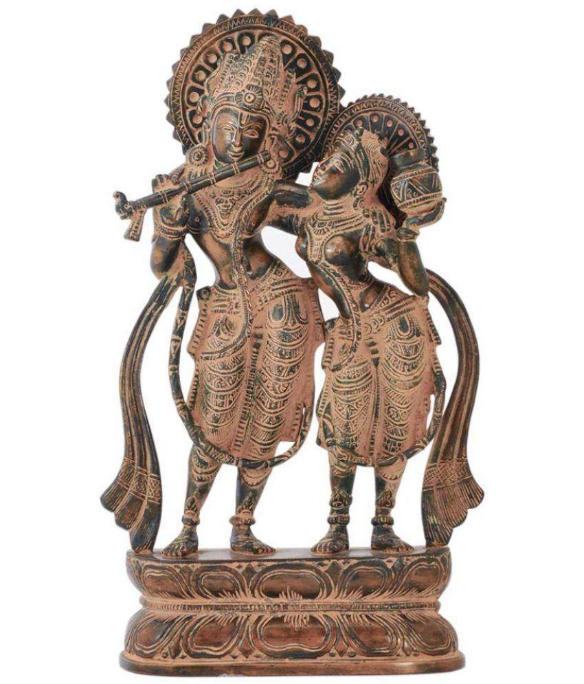Redbag Radha Krishan Brass Idol