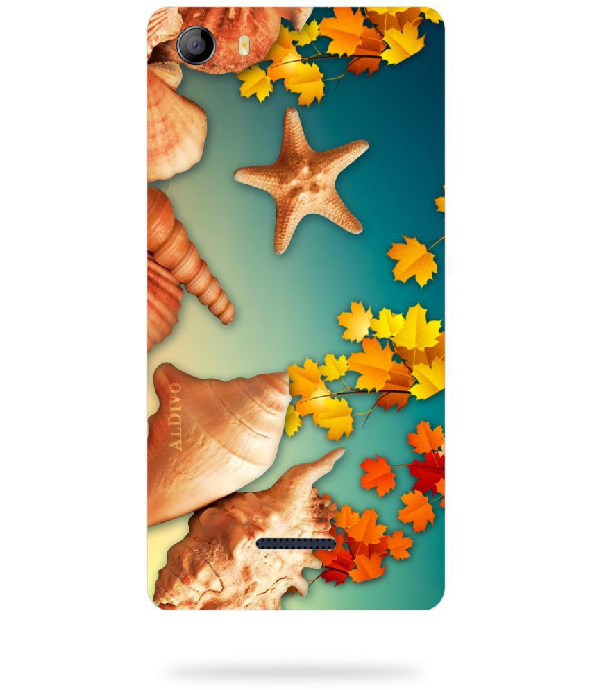 Micromax Canvas 5 E481 Printed Cover By ALDIVO