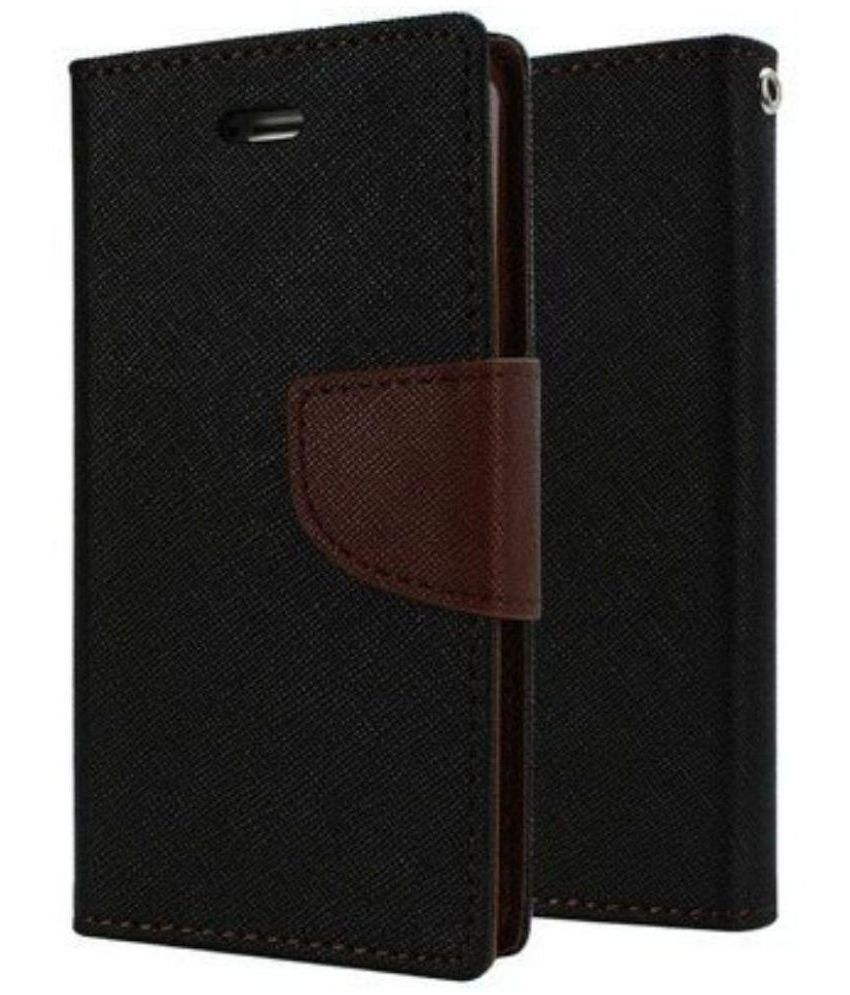 Lenovo A390 Flip Cover By Yunteng   Brown available at SnapDeal for Rs.329