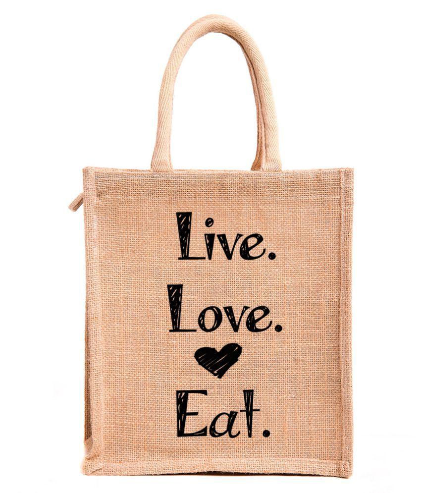 H&B Beige Lunch Bags - 1 Pc