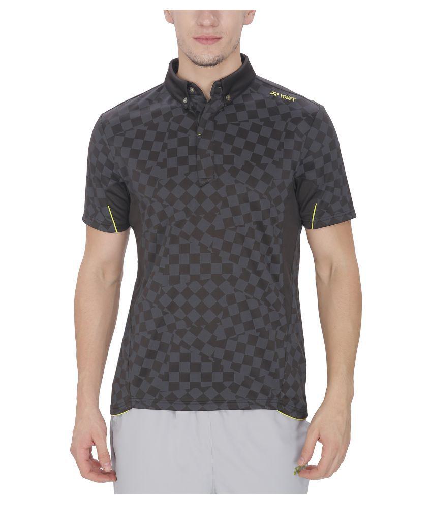 Yonex Black Badminton T-Shirt