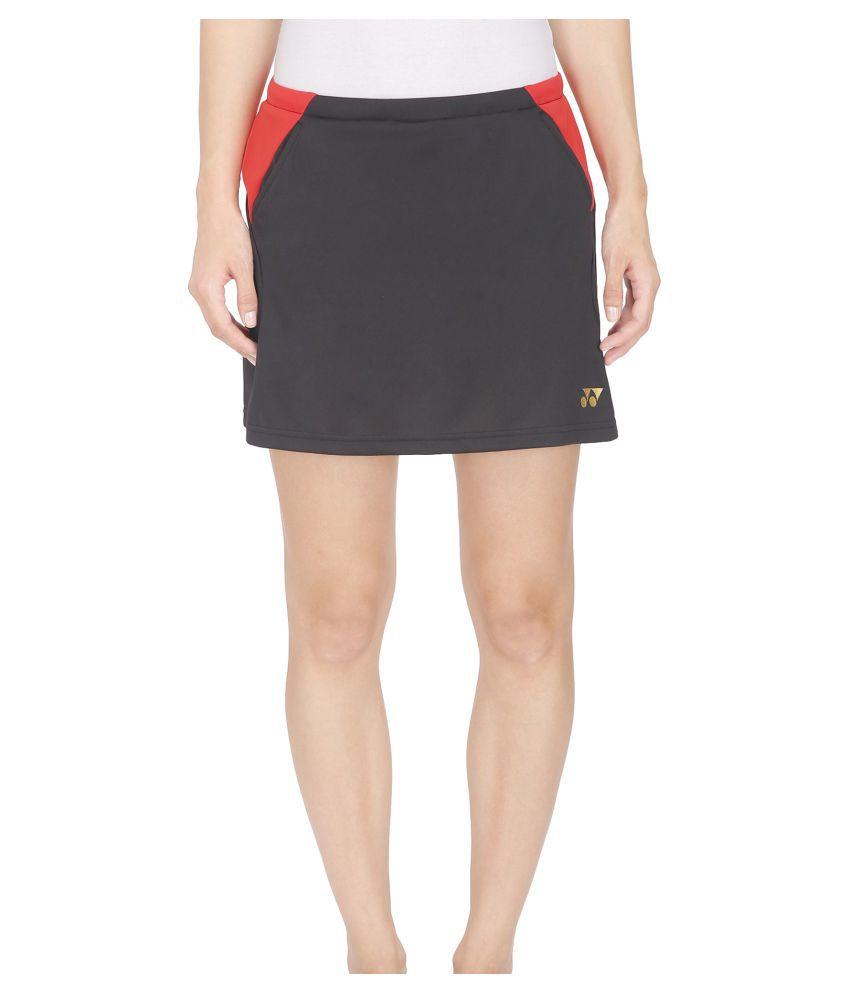 Yonex Black Badminton Women's Skirt