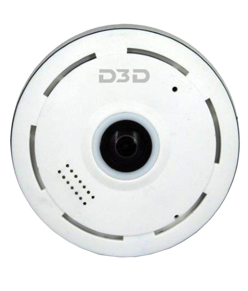 D3D Security 1 D3D Fisheye 360 Smart Camera 1 Power Adapter 1 Camera Fixed  chassis 1 User Manual Surveillance Kit