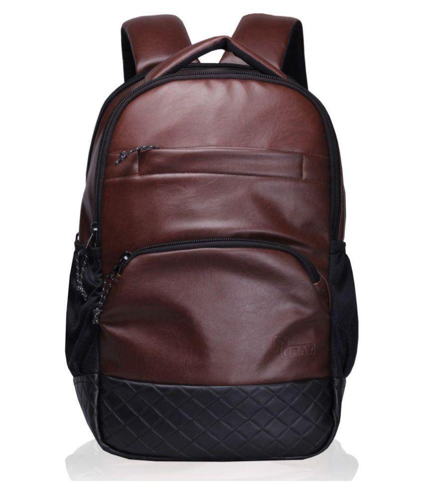 F Gear Brown Laptop Bags
