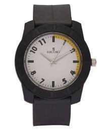Escort Black Analog Watch