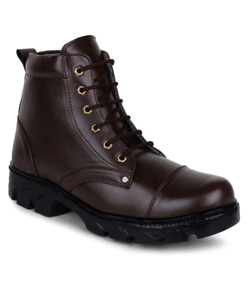 Buwch Brown Casual Boot