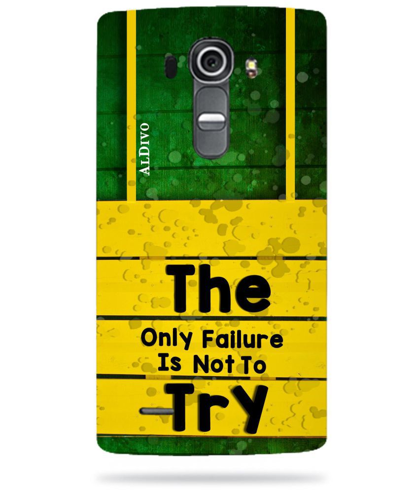 LG G4 Printed Cover By ALDIVO
