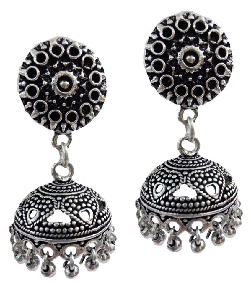 Kaizer Jewelry German Silver Jhumki