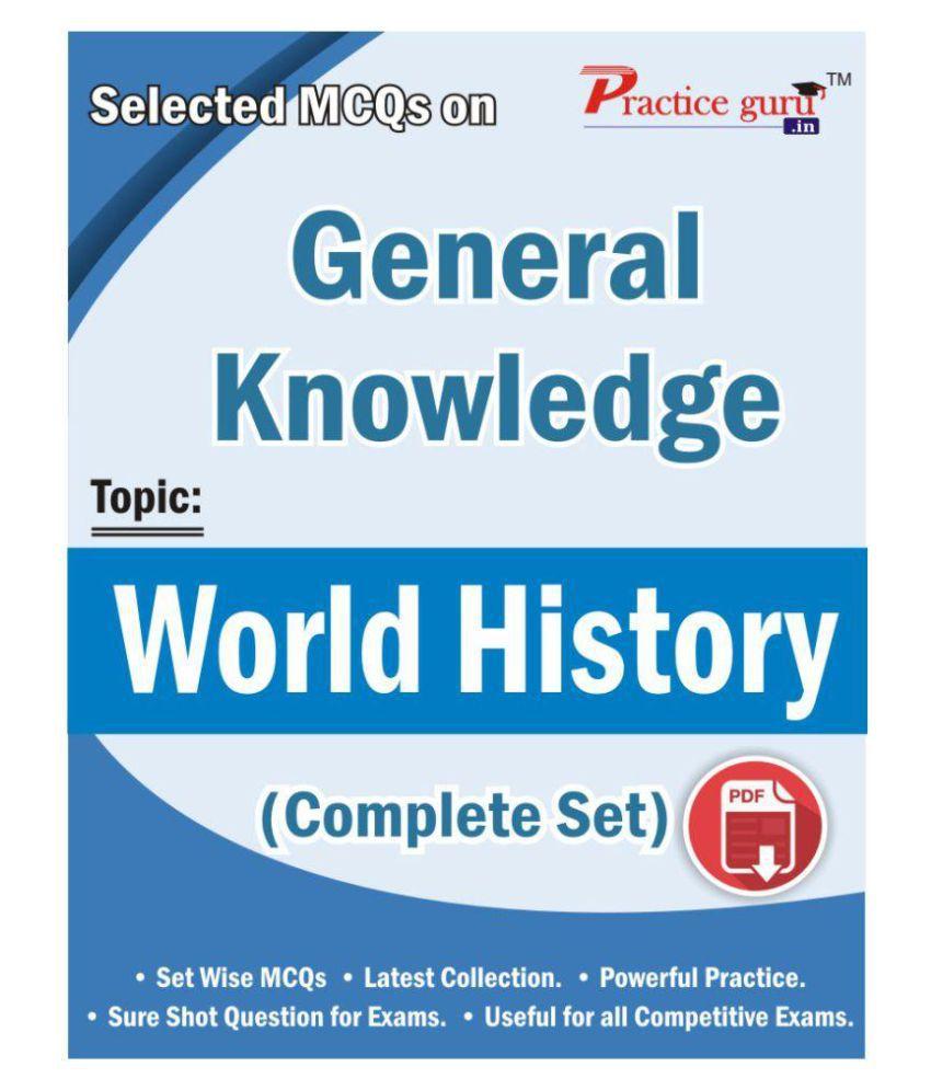 Selected MCQs on GK - World History (Complete Set) License/Redemption Code  - Online