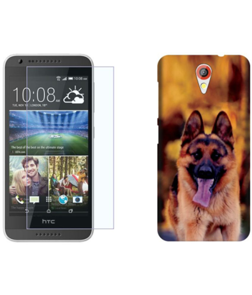 HTC Desire 620G Dual Sim Cover Combo by Via Flowers