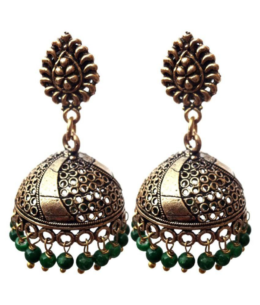 Kaizer Jewelry German Silver Jhumki