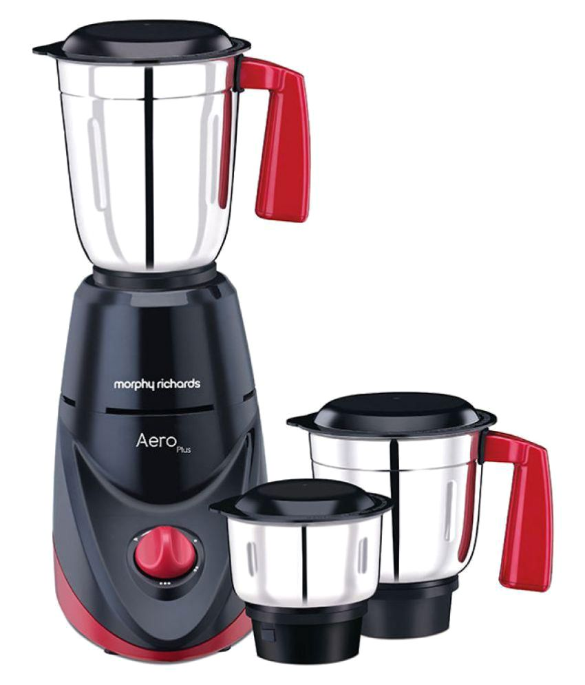 Morphy Richards 750 Watts: Morphy Richards Aero Plus Mixer Grinder 500 W 3 Jar Mixer