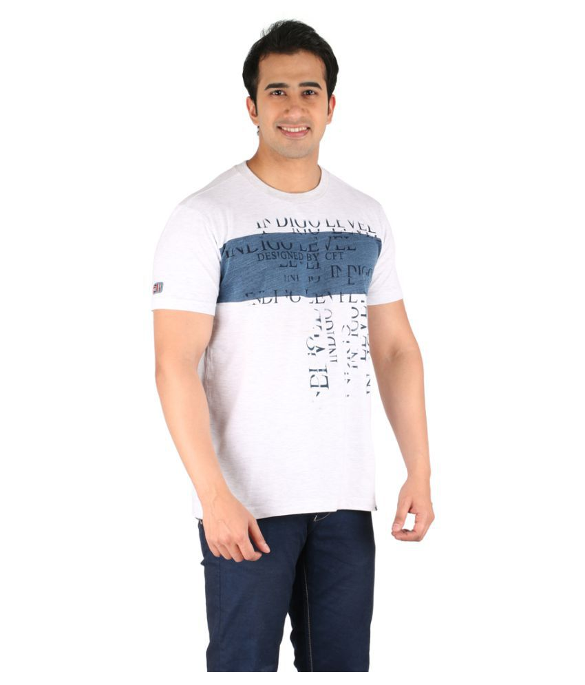 CFT White Round T-Shirt