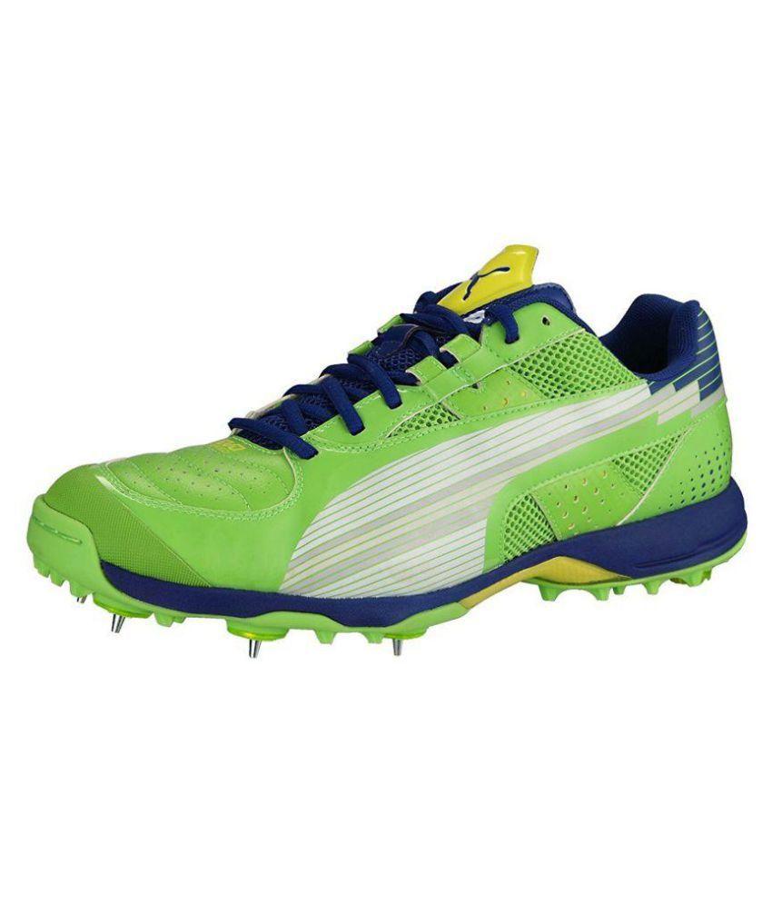 Puma Green Cricket Shoes - Buy Puma