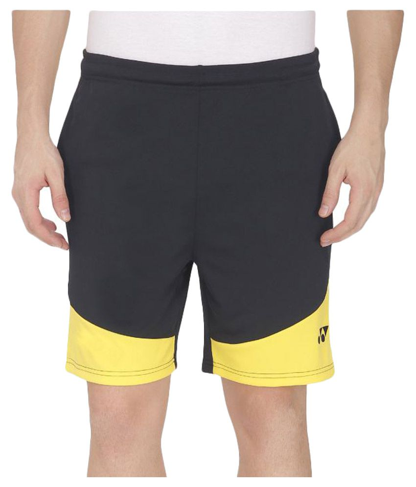 Yonex Black Polyester Shorts