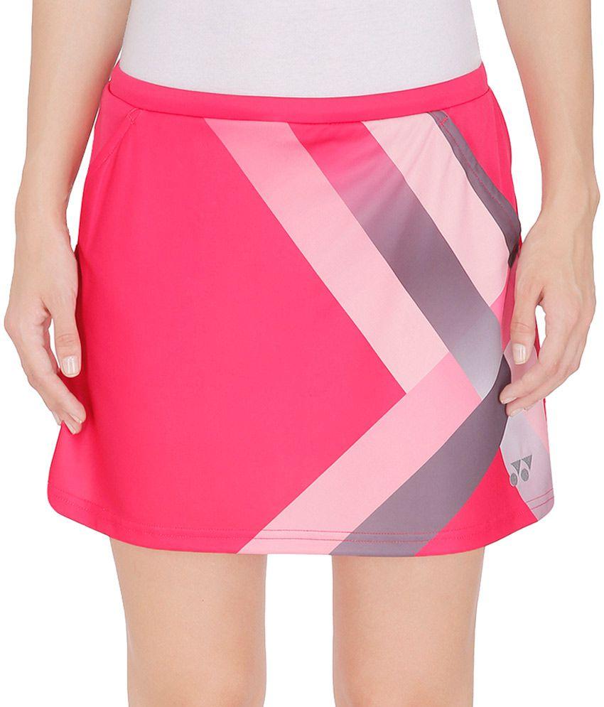 Yonex Pink Polyster Skirt