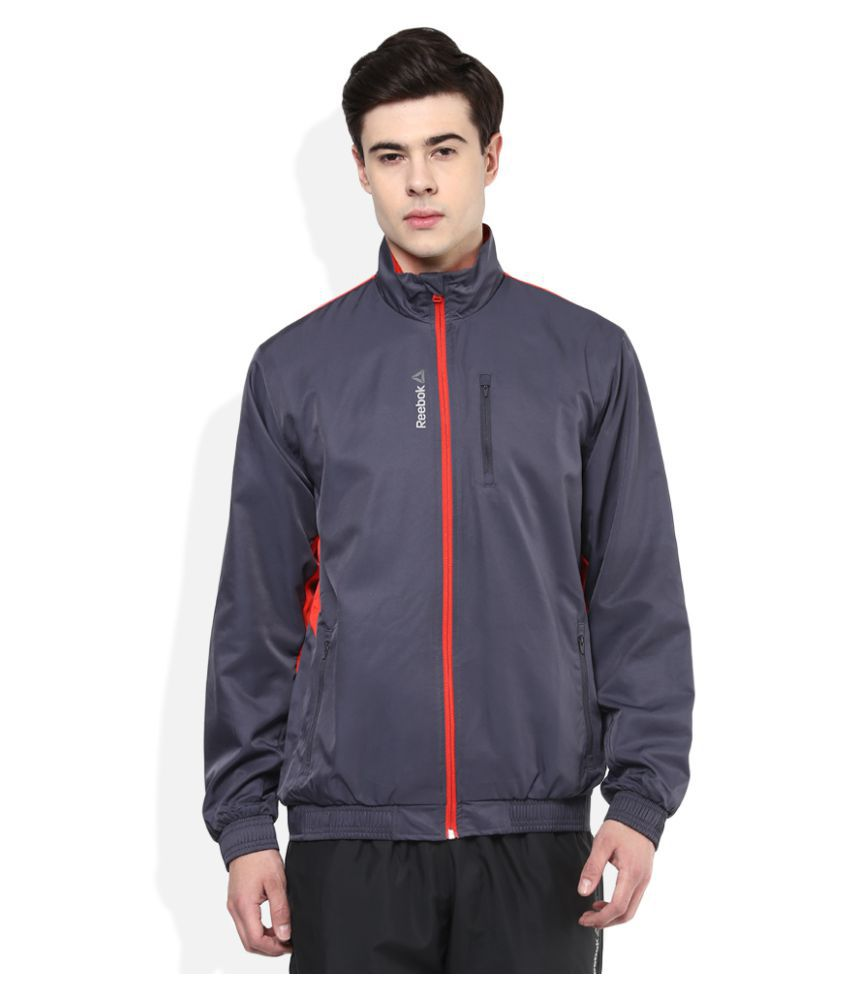 cd80fa6fe05 Reebok Grey Casual Jacket - Buy Reebok Grey Casual Jacket Online at Low  Price in India - Snapdeal