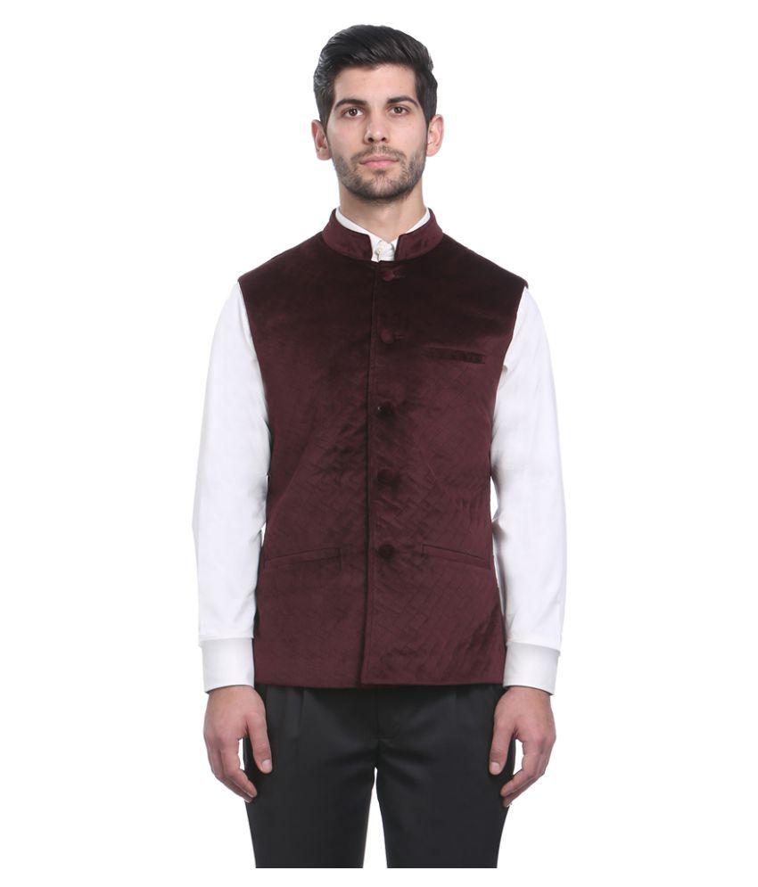 Park Avenue Brown Solid Formal Blazers