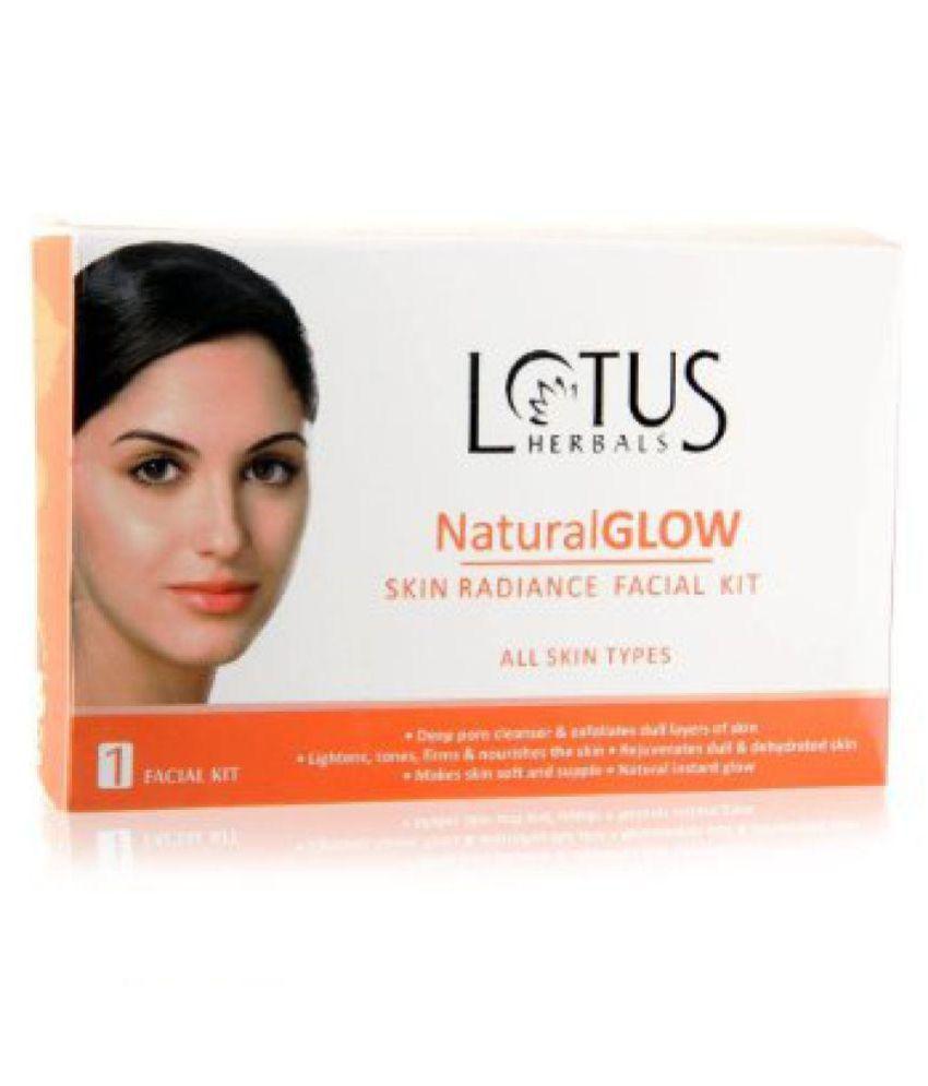 Lotus Herbals Natural Glow Skin Radiance Facial Kit (50GM)