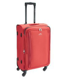 Pronto Red M( Between 61cm-69cm) Check-in Soft Luggage