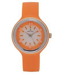 Escort Orange Plastic Analog Watch For Kids