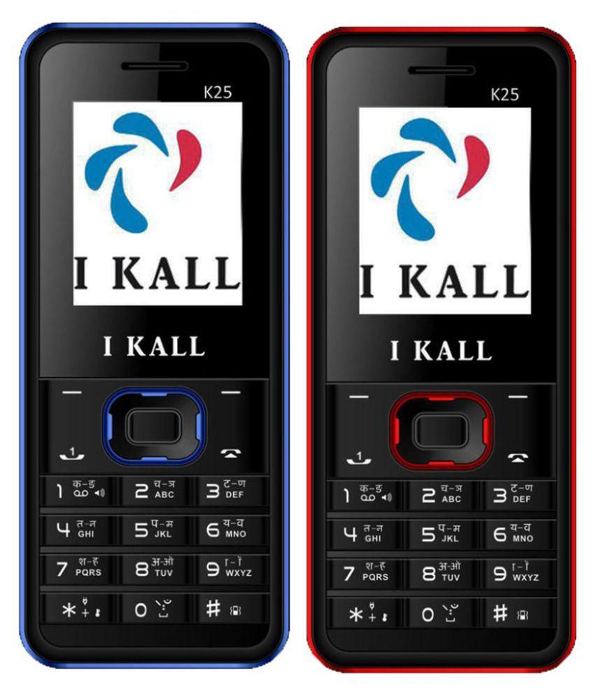 I Kall K25 Combo of 2 32 MB Black